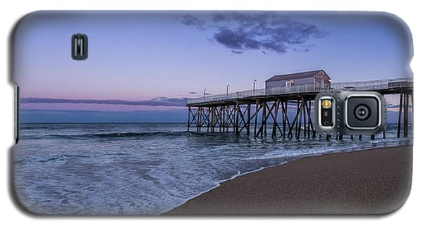 Fishing Pier Sunset Galaxy S5 Case