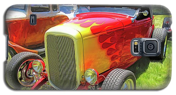 Flamed Red 1932 Ford Roadster Galaxy S5 Case