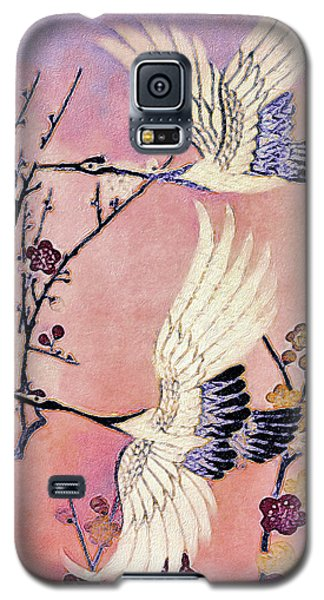 Flight Of The Cranes - Kimono Series Galaxy S5 Case