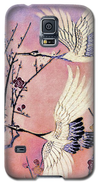 Flight Of The Cranes - Kimono Series Galaxy S5 Case