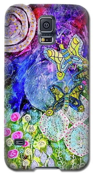 Flight Of The Lunar Moths Galaxy S5 Case