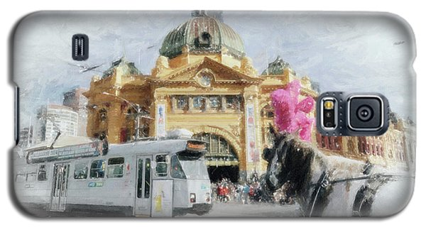 Flinders Street Station, Melbourne Galaxy S5 Case