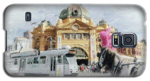 Flinders Street Station, Melbourne Galaxy S5 Case
