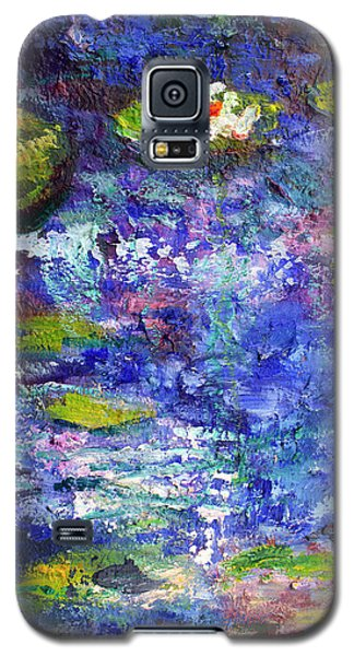 Floating Lilies Oil Painting Galaxy S5 Case