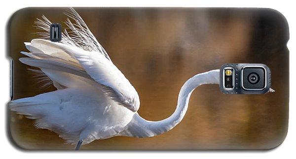 Floofy Egret Galaxy S5 Case