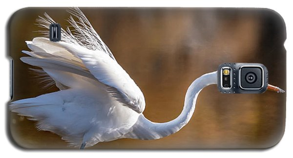 Floofy Egret Galaxy S5 Case