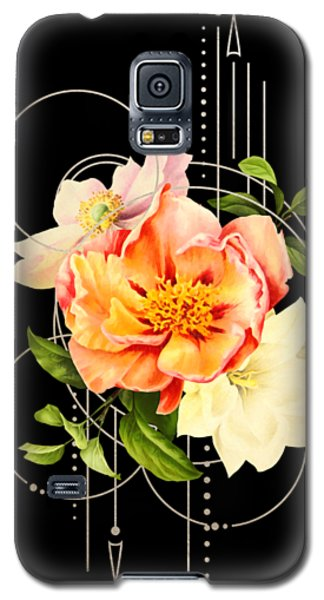 Floral Abstraction Galaxy S5 Case