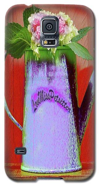 Floral  Art 375 Galaxy S5 Case