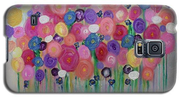 Floral Balloon Bouquet Galaxy S5 Case