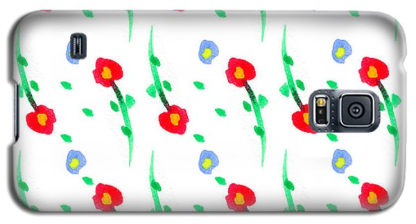 Floral Pattern Galaxy S5 Case