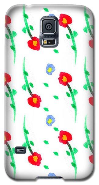 Floral Pattern Galaxy S5 Case