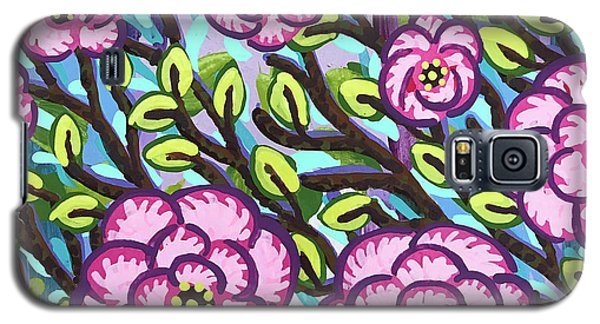 Floral Whimsy 3 Galaxy S5 Case