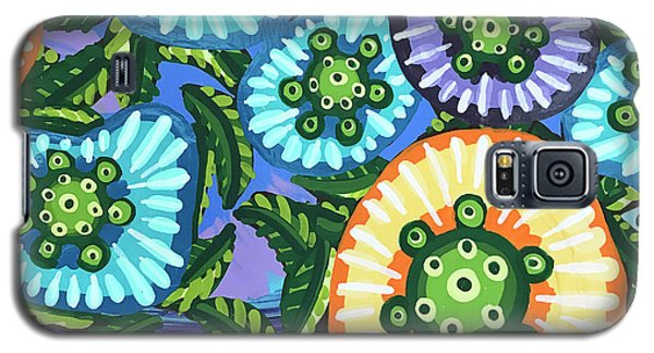 Floral Whimsy 6 Galaxy S5 Case