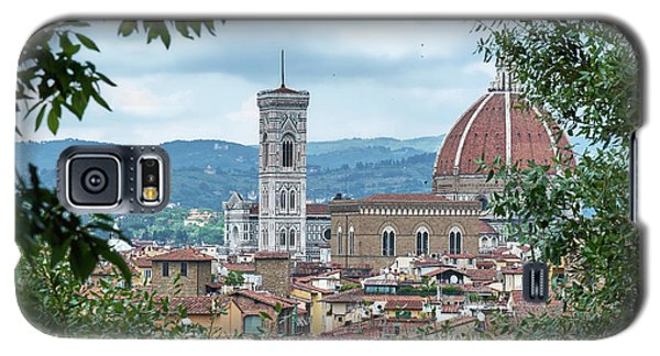 Florence And The Cathedral From The Boboli Gardens Galaxy S5 Case