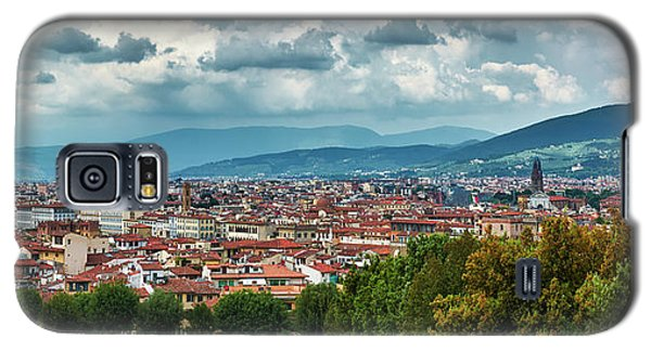 Florentine Cityscape From The Boboli Gardens Galaxy S5 Case