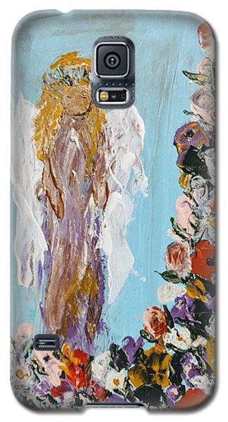 Flower Child Angel Galaxy S5 Case