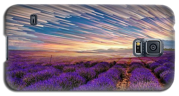 Flower Landscape Galaxy S5 Case