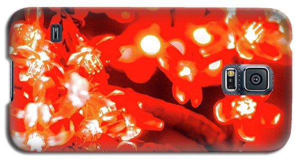 Flower Lights 4 Galaxy S5 Case
