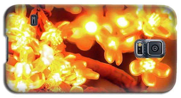 Flower Lights 5 Galaxy S5 Case