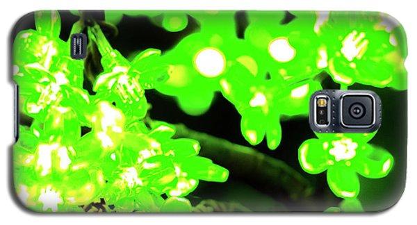 Flower Lights 7 Galaxy S5 Case