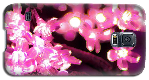 Flower Lights 9 Galaxy S5 Case