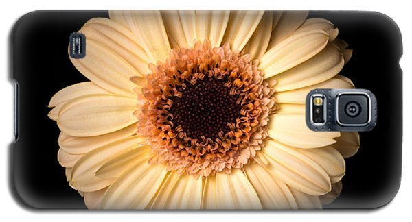 Flower Over Black Galaxy S5 Case