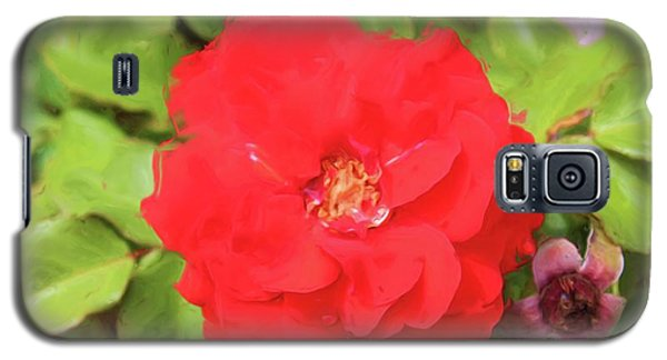 Flower Painting Galaxy S5 Case