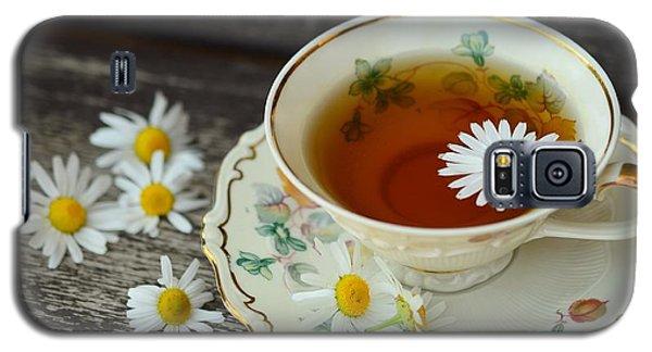 Flower Tea Galaxy S5 Case