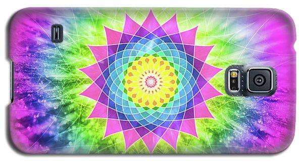 Flowering Mandala Galaxy S5 Case