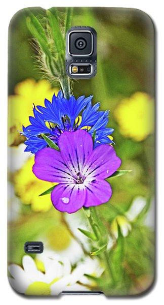 Flowers In The Meadow. Galaxy S5 Case