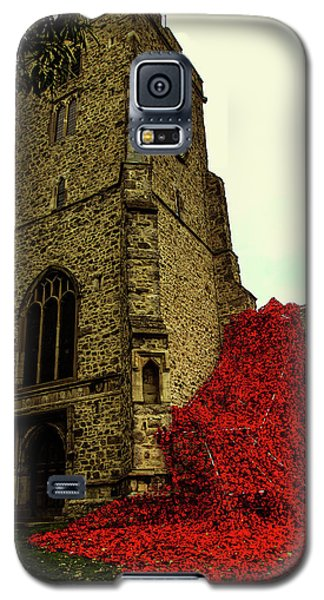 Flowing Poppies Galaxy S5 Case