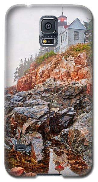 Foggy Bass Harbor Lighthouse Galaxy S5 Case