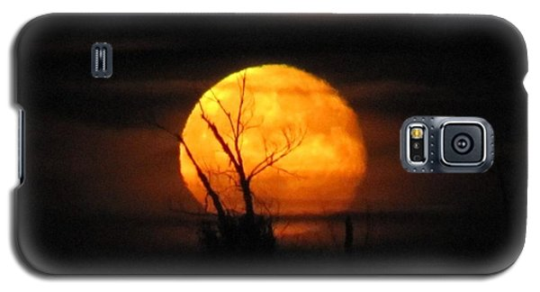 Foggy Harvest Moon Galaxy S5 Case