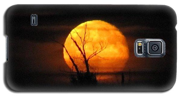 Foggy Harvest Moon Galaxy S5 Case