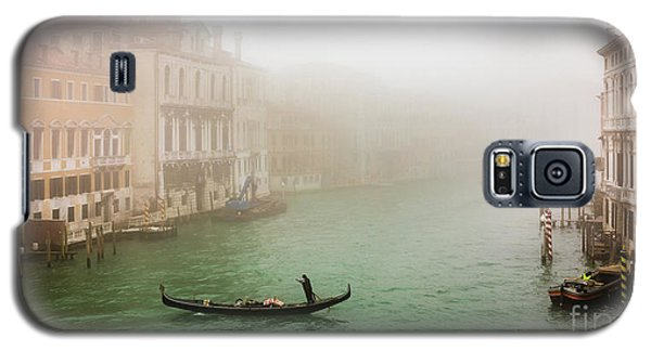 Foggy Morning On The Grand Canale, Venezia, Italy Galaxy S5 Case