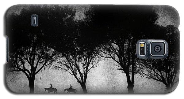Foggy Morning Ride Galaxy S5 Case