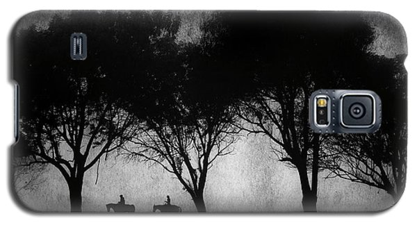 Foggy Morning Ride Galaxy S5 Case