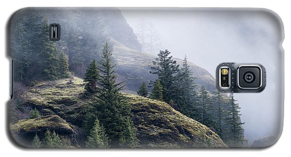 Foggy On Saddle Mountain Galaxy S5 Case