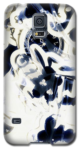 Trumpet Galaxy S5 Case - Follow The Blue Rabbit by Jorgo Photography - Wall Art Gallery