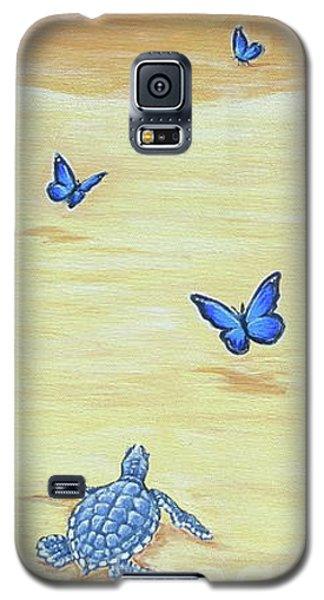 Follow The Butterflies Galaxy S5 Case
