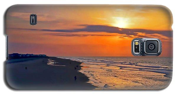 Folly Beach Sunrise Galaxy S5 Case