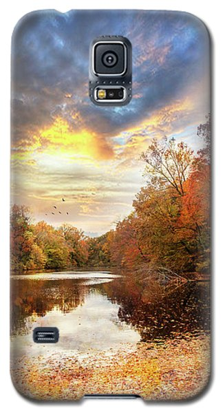 For The Love Of Autumn Galaxy S5 Case