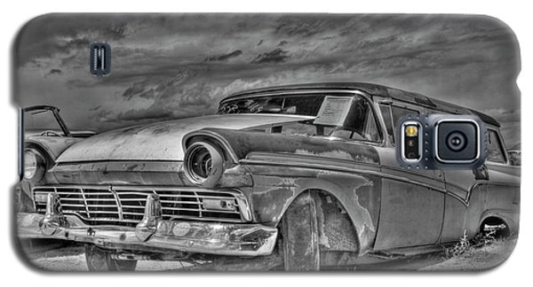 Ford Country Squire Wagon - Bw Galaxy S5 Case