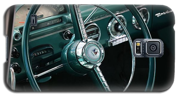 1955 Ford Fairlane Steering Wheel Galaxy S5 Case
