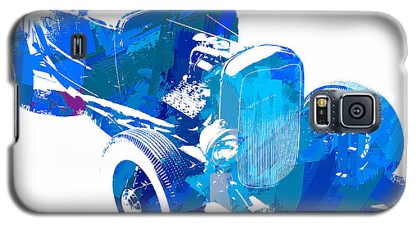 Ford Flathead Roadster Two Blue Pop Galaxy S5 Case