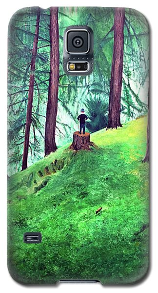 Forest Through The Trees Galaxy S5 Case
