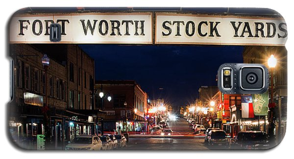 Fort Worth Stock Yards 112318 Galaxy S5 Case