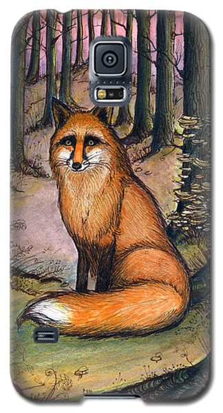 Fox In The Woods Galaxy S5 Case