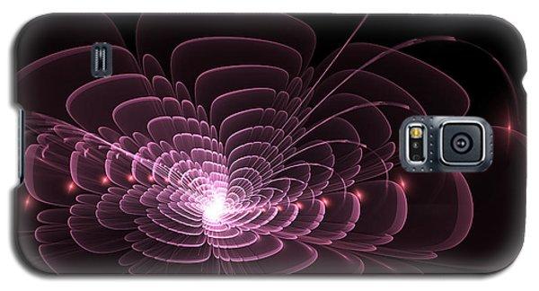 Fractal Rose Galaxy S5 Case