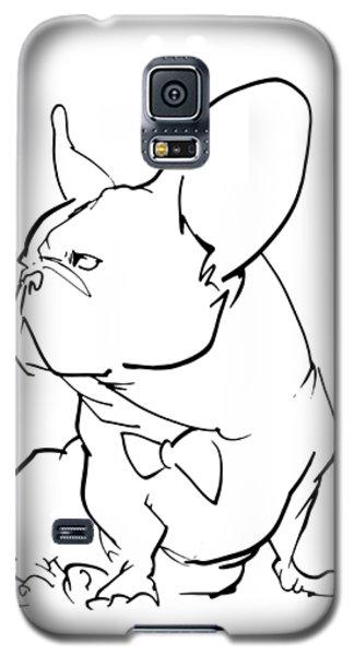 French Bulldog Gesture Sketch Galaxy S5 Case